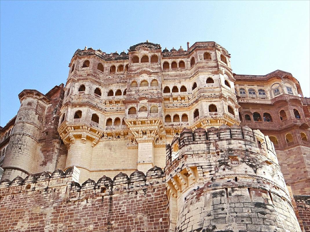 Le Fort de Mehrangarh de Jodhpur