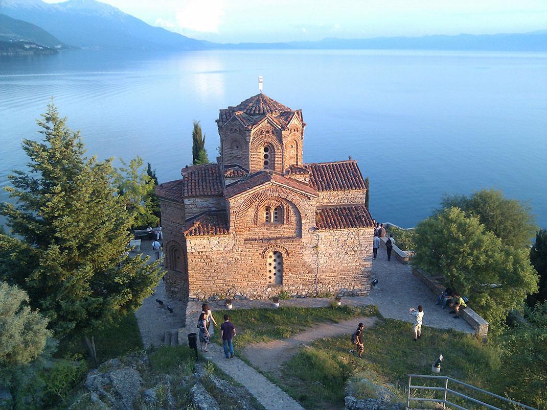 L'Eglise Saint-Jean de Kaneo à Ohrid