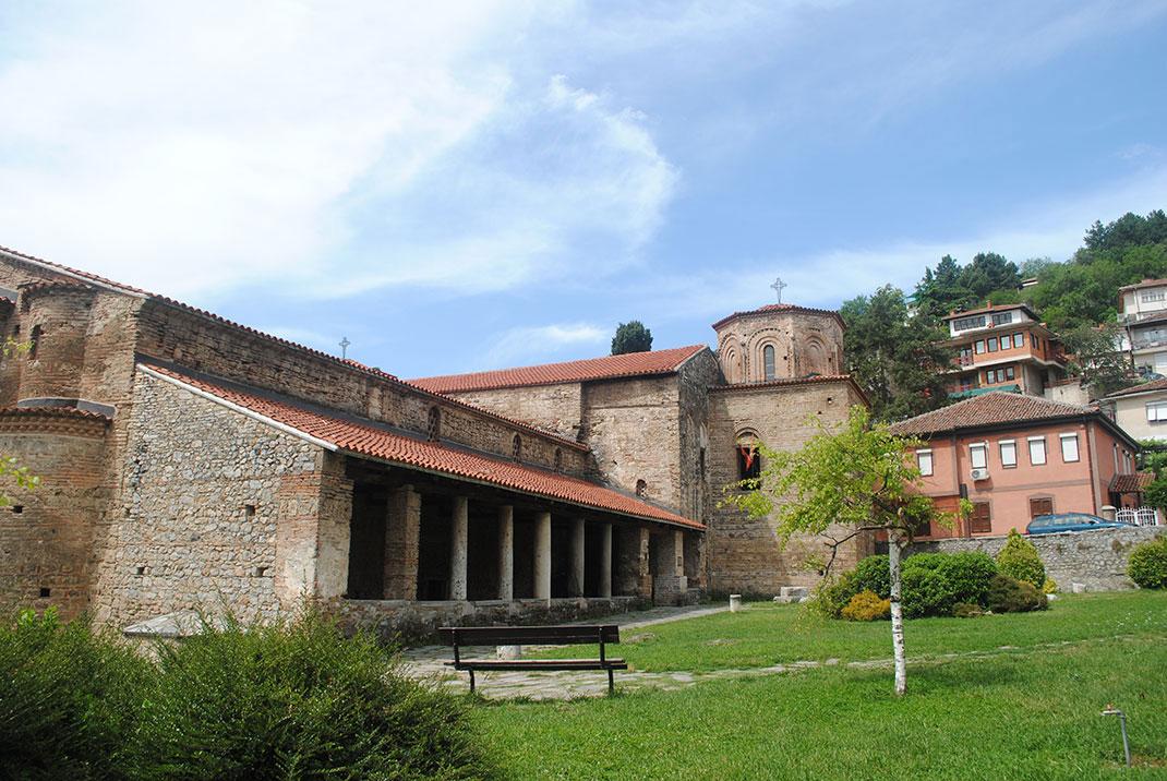 La cathédrale Sainte-Sophie à Ohrid