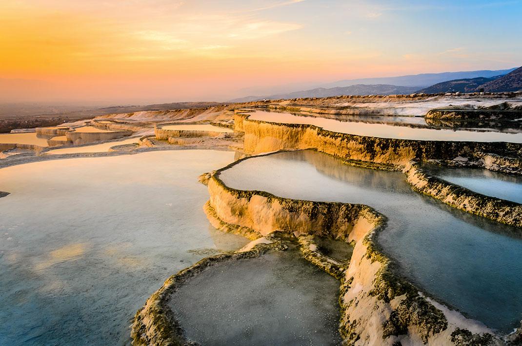 Pamukkale via Shutterstock