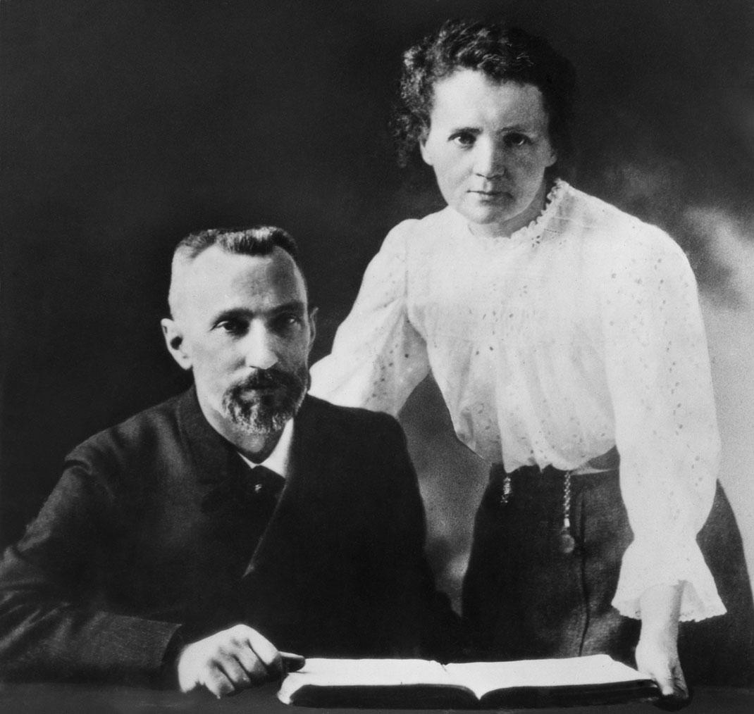 Pierre et Marie Curie via Shutterstock