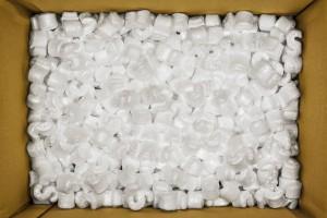 Du polystyrène via Shutterstock