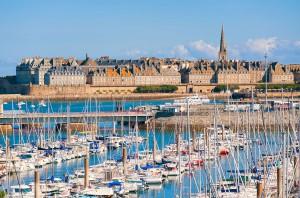 Saint-Malo via Shutterstock