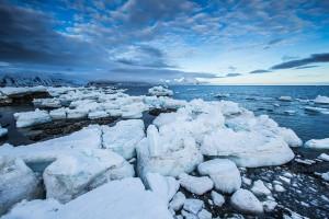 La fonte des glaces via Shutterstock