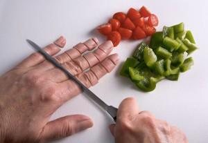 Manger ses mains via Shutterstock
