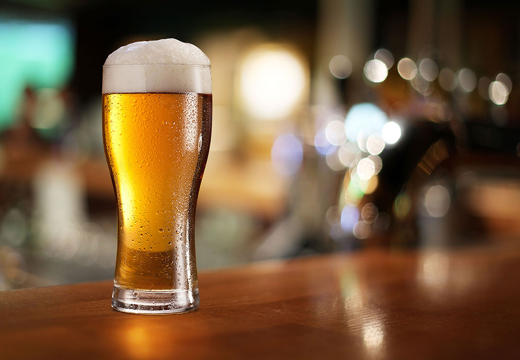 Bière via Shutterstock