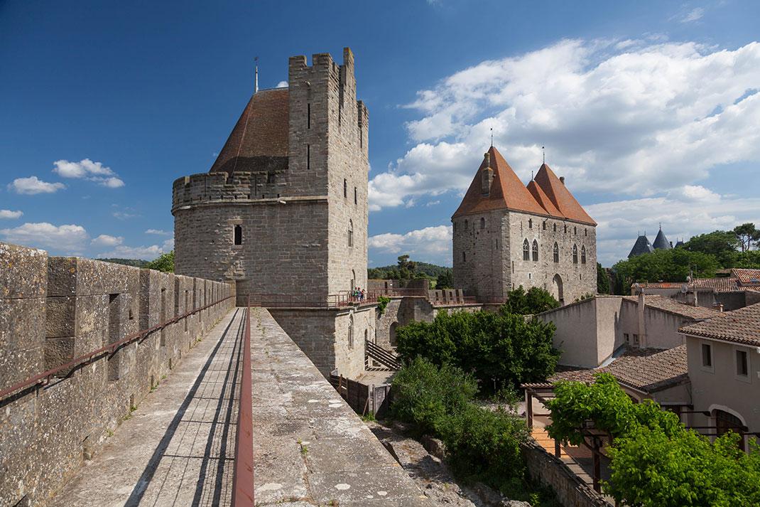 La cité de Carcassonne via Shutterstock