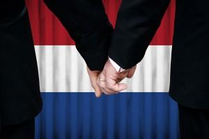 Les Pays-Bas, premier pays à légaliser le mariage gay via Shutterstock