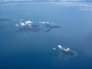 Des îles dans le Détroit de Torres