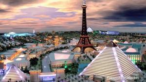 """Le projet de """"Falconcity of Wonders"""" en 3D"""