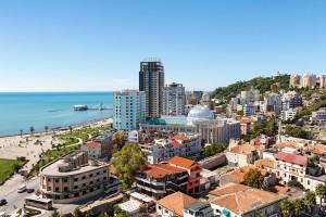 La ville de Durrës en Albanie via Shutterstock