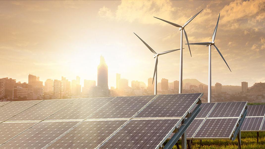Éoliennes via Shutterstock
