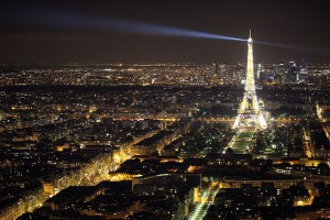 La scintillante tour Eiffel originale