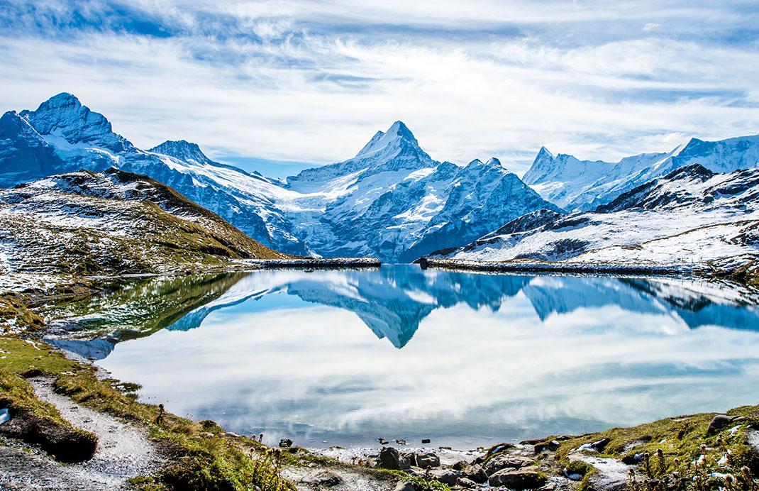 Grindelwald en Suisse via Shutterstock