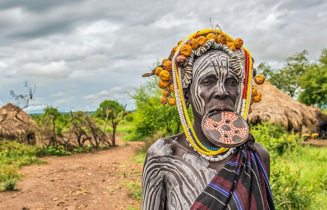 Femme éthiopienne via Shutterstock