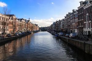 Un splendide paysage néerlandais