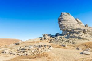Le sphinx des Bucegi en Roumanie via Shutterstock