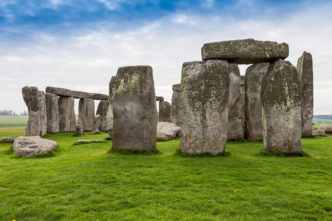 Stonehenge via Shutterstock