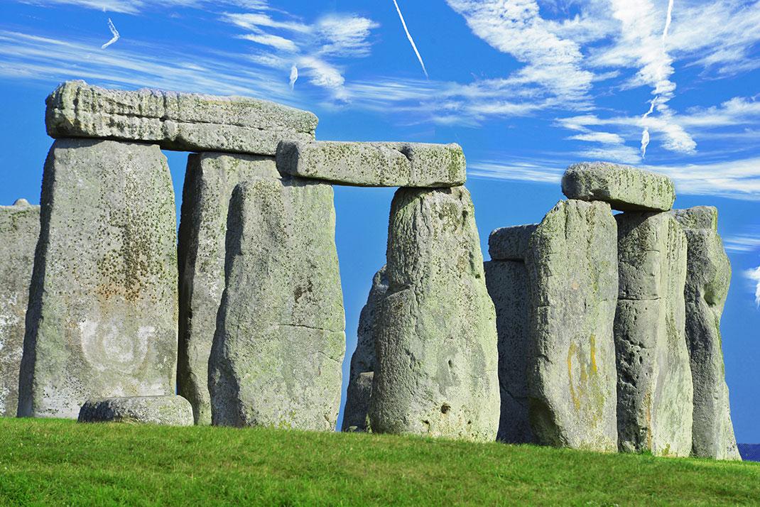 Un trilithe de Stonehenge via Shutterstock