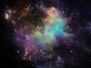 Une vision artistique de l'univers via Shutterstock