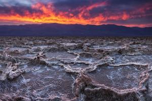 "Le ""BadWater"" de la Vallée de la mort via Shutterstock"