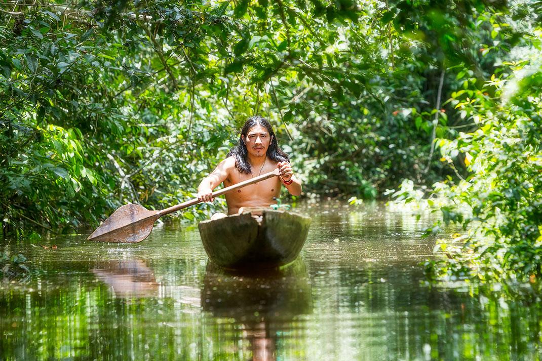 Un amazone via Shutterstock