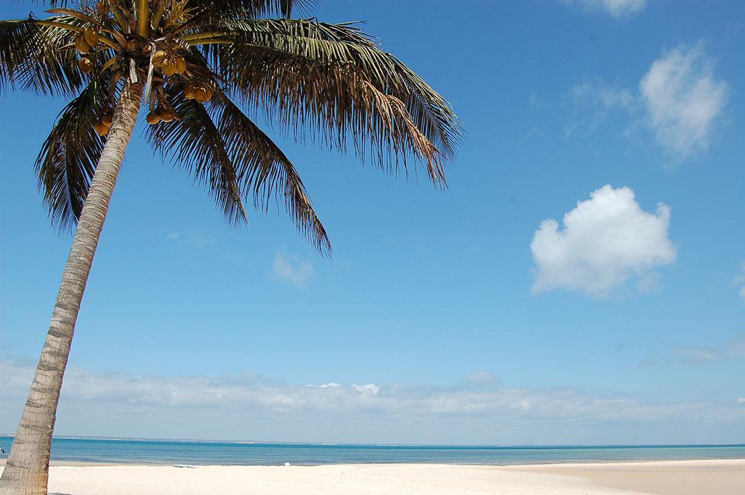 La plage de Benguerra, située sur une des îles de l'archipel via Shutterstock