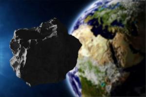 Un astéroïde via Shutterstock