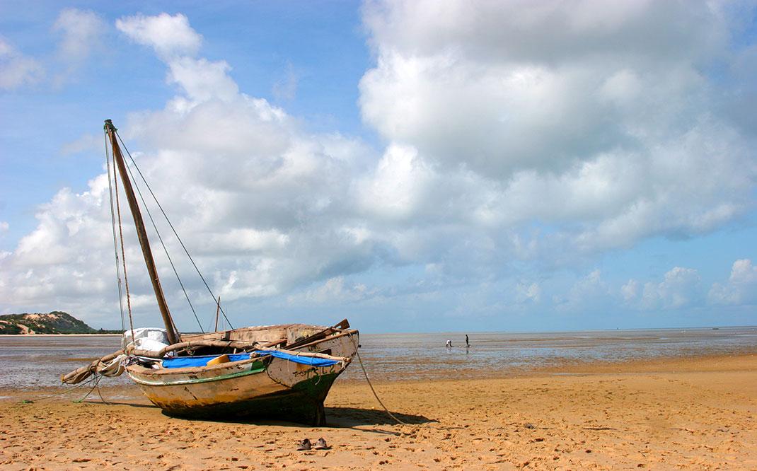 Un bateau via Shutterstock