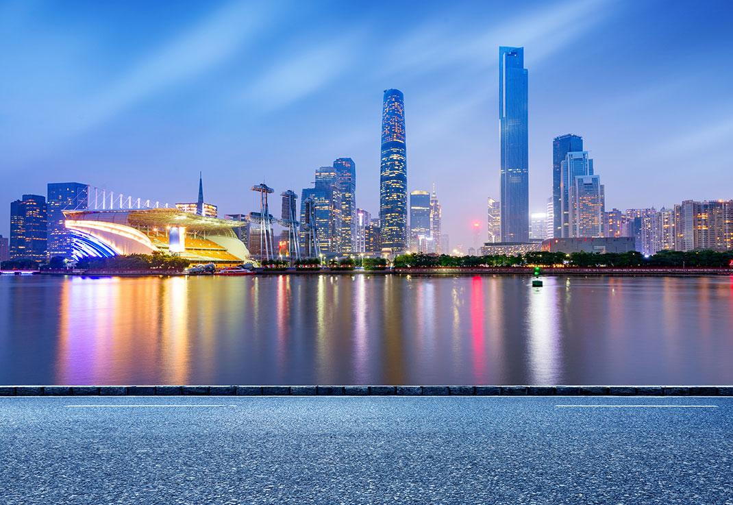 La ville de Ghuanzou via Shutterstock