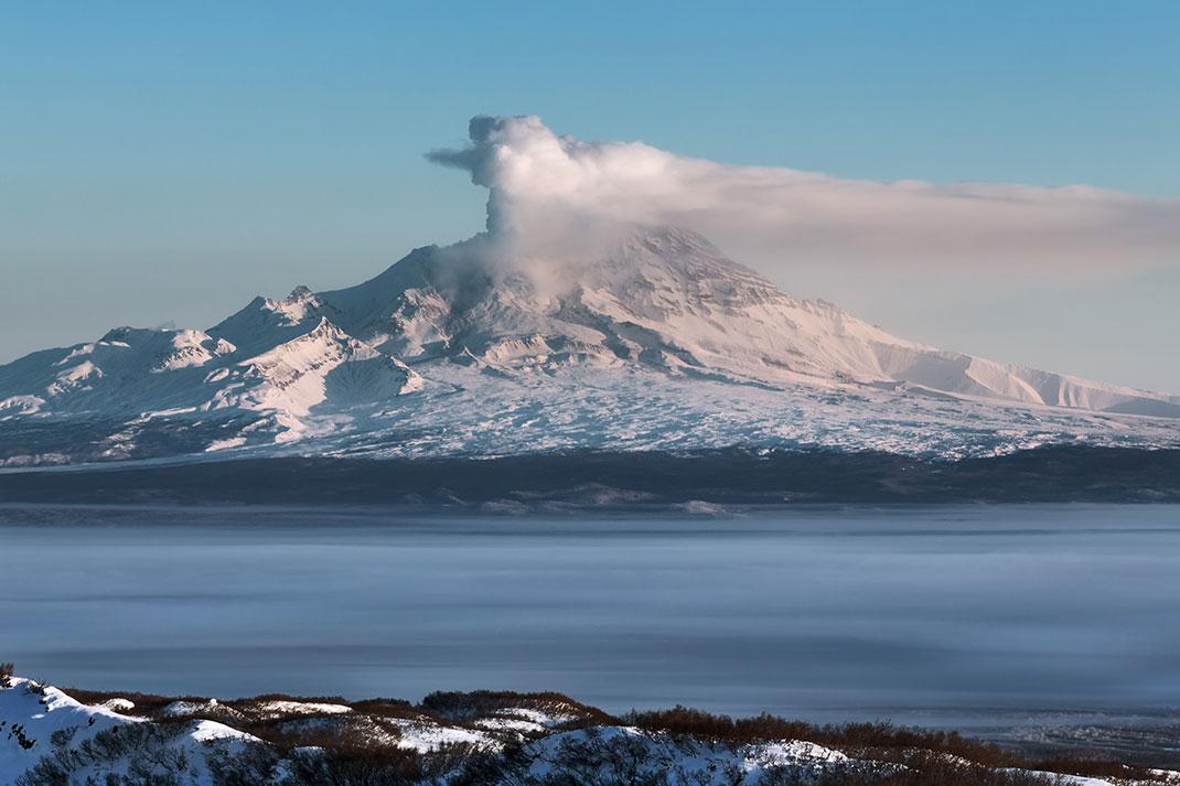 La vallée des geysers via Shutterstock