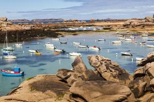 La côte rose via Shutterstock