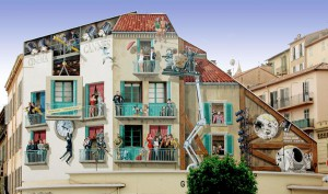 Fresque réalisée par A.Fresco