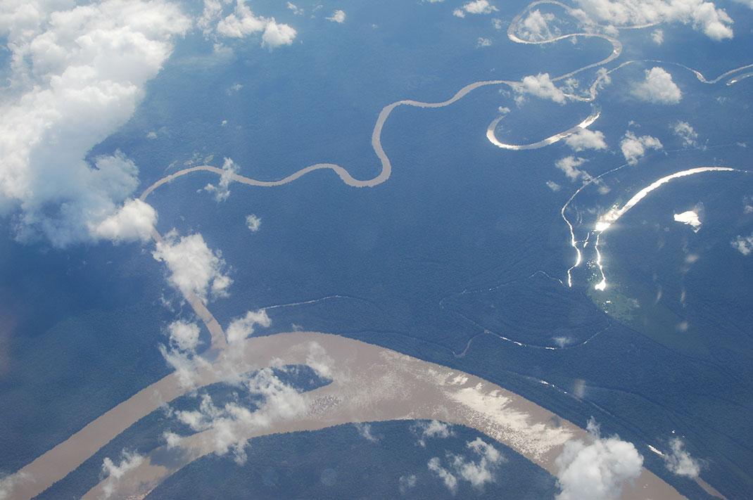 Le fleuve Amazone via Shutterstock
