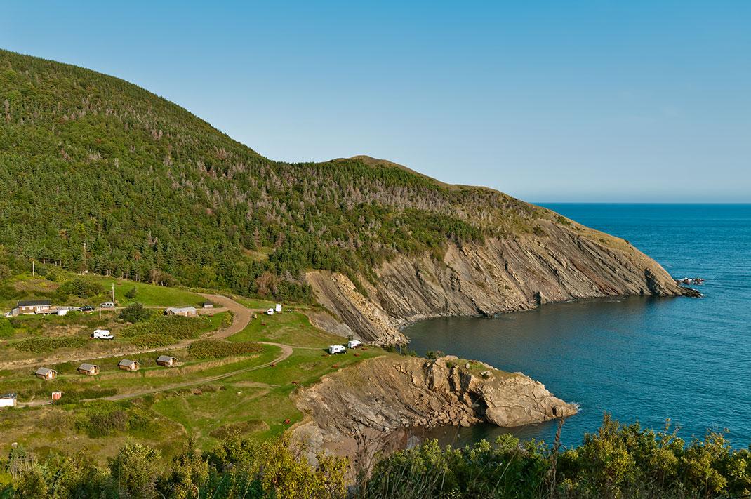 L'île du Cap-Breton au Canada via Shutterstock