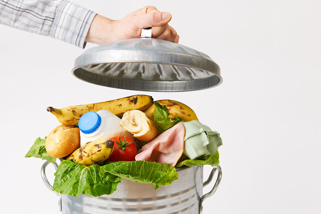 Du gaspillage alimentaire via Shutterstock