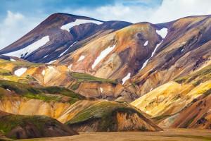 Landmannalaugar en Islande via Shutterstock