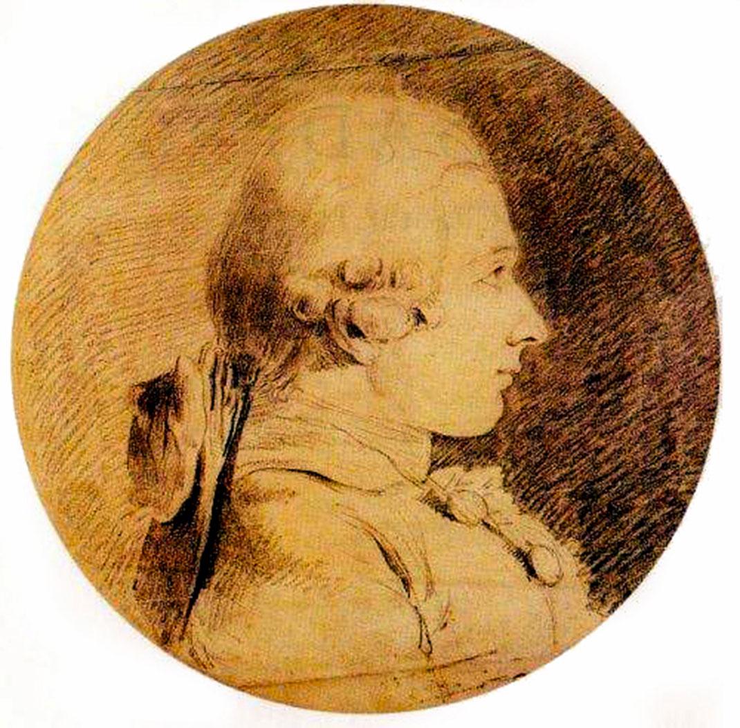 Portrait supposé du Marquis de Sade