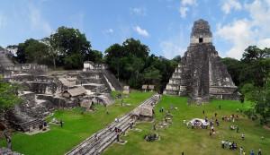 Ruines Tikal, Guatemala