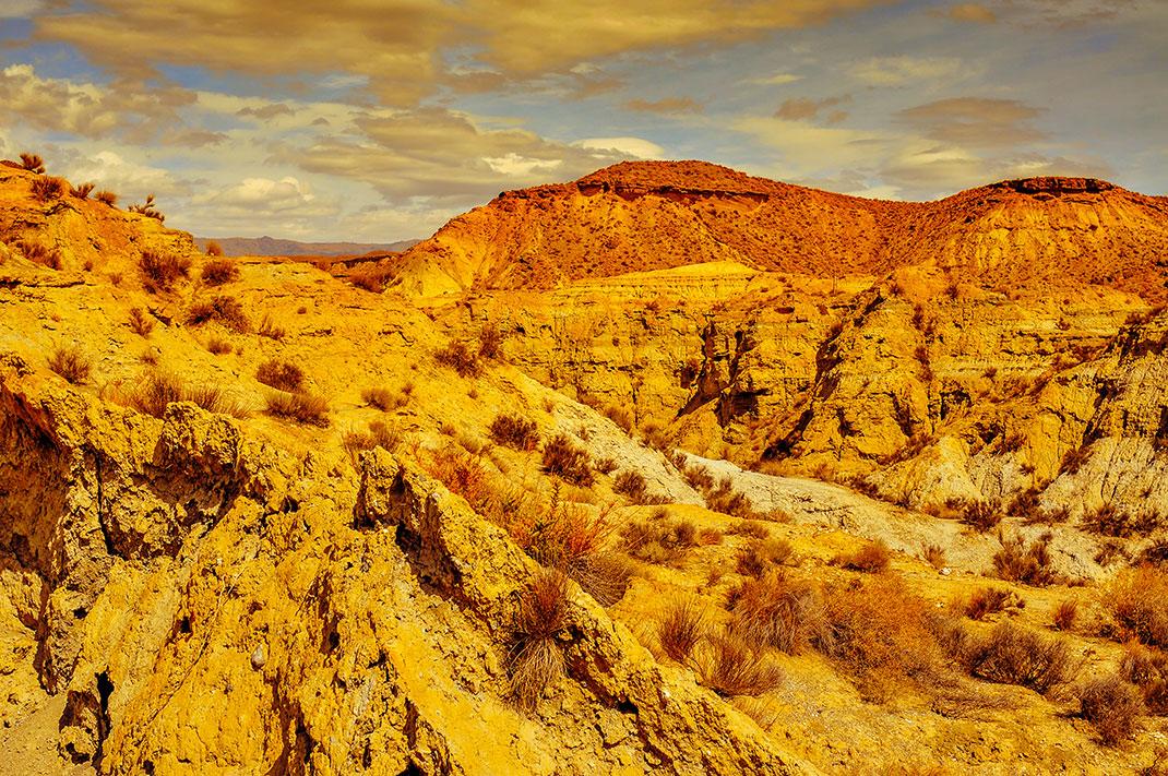 Le désert de Tabernas via Shutterstock