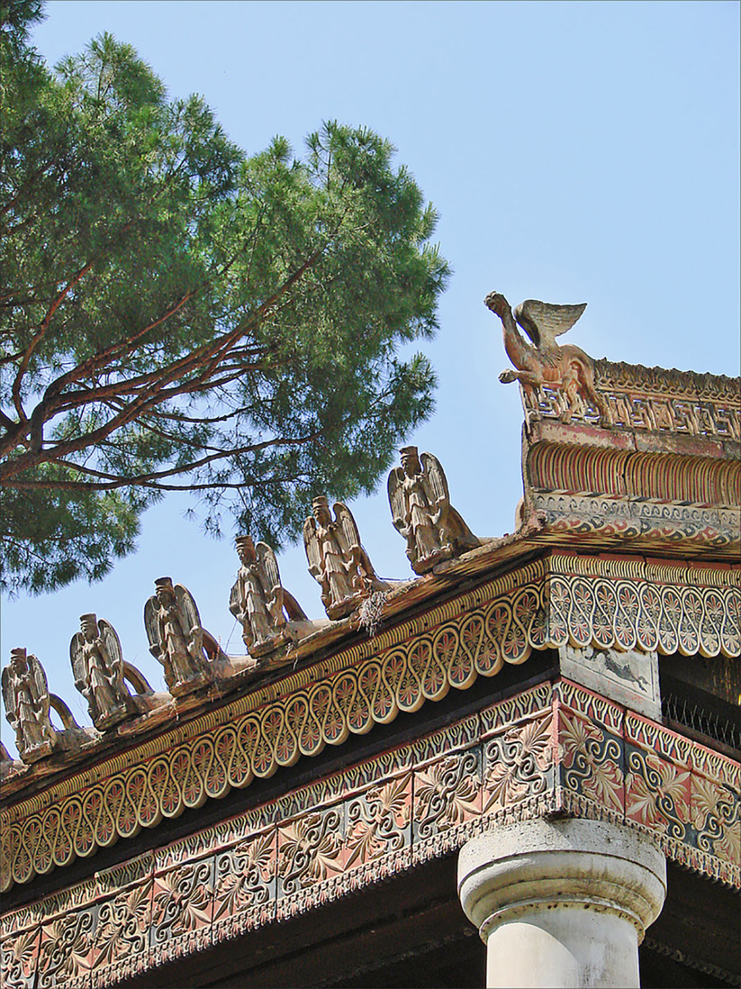 Temple étrusque reconstitué