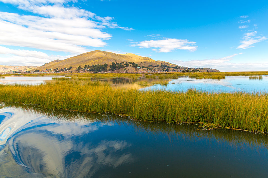 Le sublime lac Titicaca via Shutterstock
