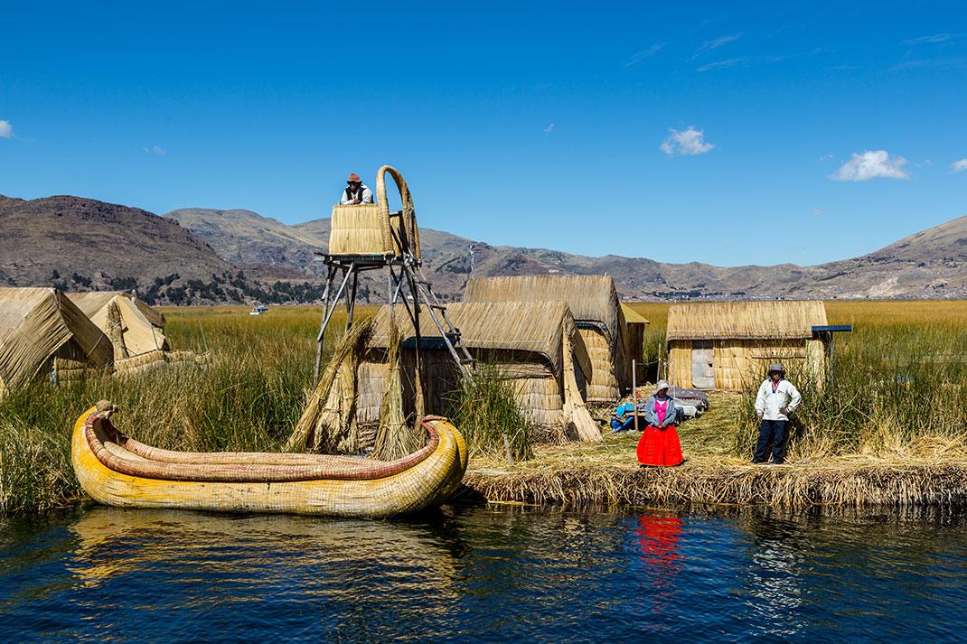 Le magnifique lac Titicaca via Shutterstock