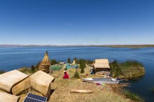 Le lac Titicaca via Shutterstock