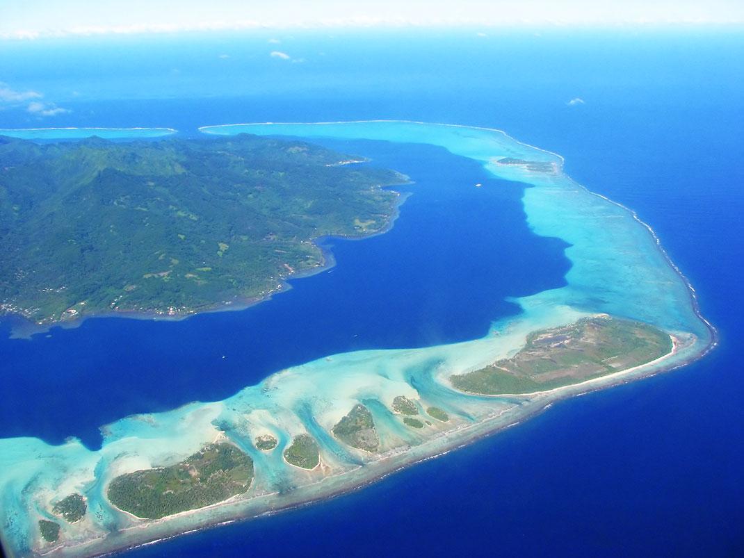 La Polynésie française, membre du Pacific Island Development Forum, via Shutterstock