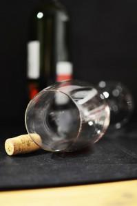 Un verre à vin