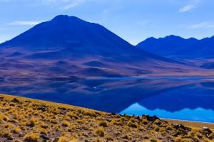 Le lagon Altiplanic au Chili via Shutterstock