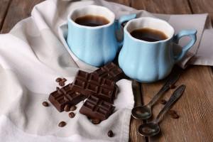 Du café et du chocolat via Shutterstock