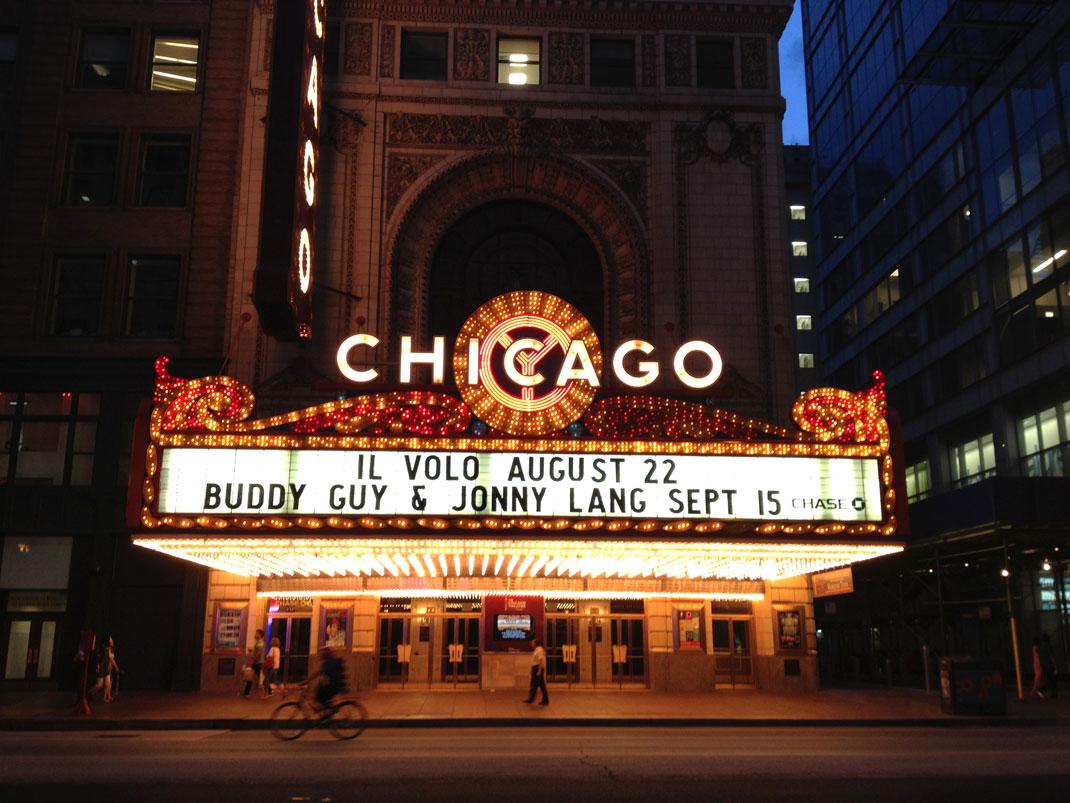 Un cinéma à Chicago