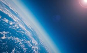 Une vue de notre stratosphère via Shutterstock